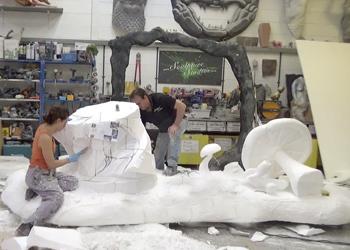 Polystyrene Sculpture by Aden Hynes   Sculpture Studios