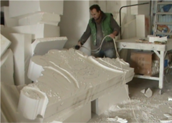 Polystyrene Sculpture by Aden Hynes | Sculpture Studios